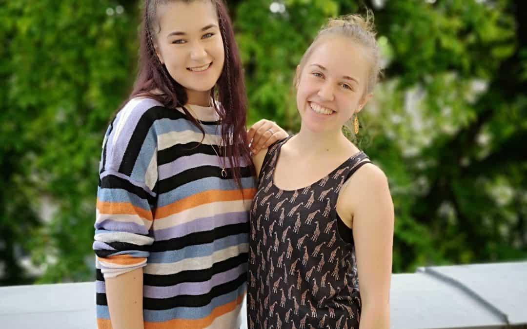 """""""Ich hatte die Vorstellung, dass sie wie eine Schwester für mich wird."""" – Nele und Mihaela"""