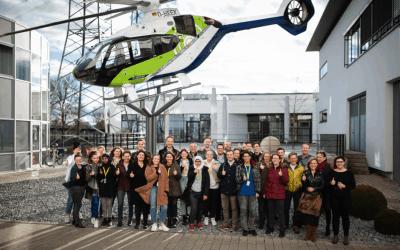 Dreifacher Startschuss für die Airbus Foundation Flying Challenge