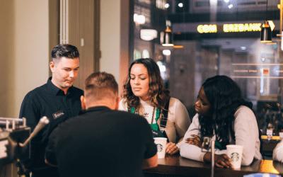 Unser Jahr mit Starbucks: fast 200 Teilnehmende in 10 Städten